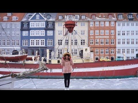 Winter In Copenhagen   LOTS OF SNOW