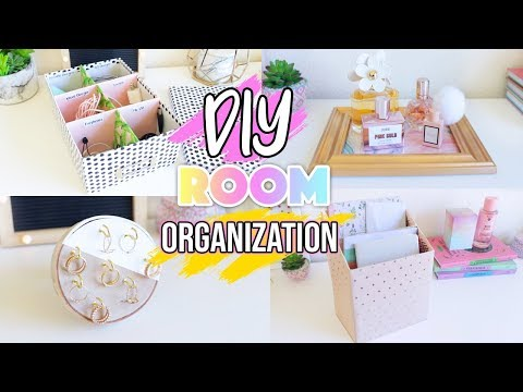 DIY Room Organization 2019!!