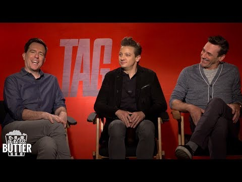 Jeremy Renner broke his arms filming 'Tag' & more from Jon Hamm and Ed Helms