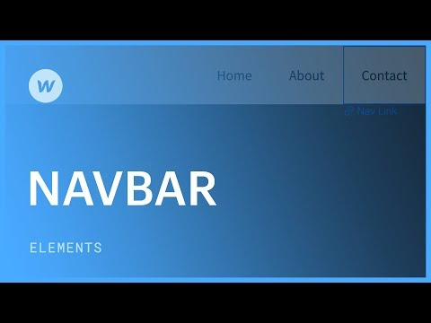 Responsive navigation bar - Web design tutorial