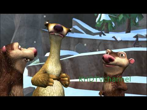 Ice Age 3 Dawn of the Dinosaurs PC Walkthrough part 1 - Gift for Ellie
