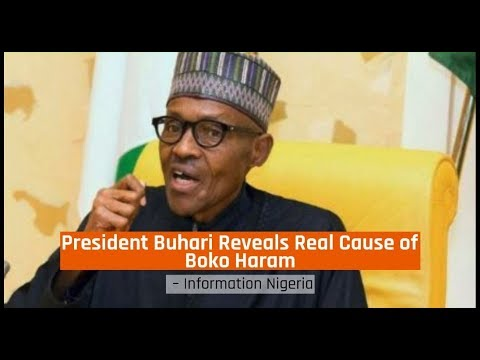 Nigeria News Today - President Buhari Reveals Real Cause of