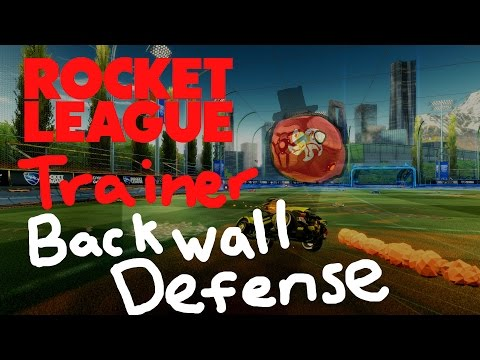 Back Wall Defense | Rocket League Trainer Ep. 3