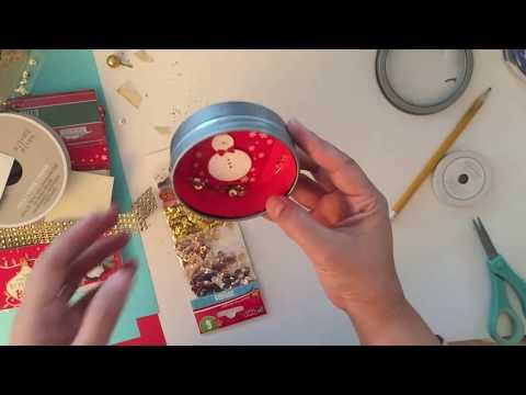 3 Dollar Tree DIY Magnetic Shaker Ornaments - Easy