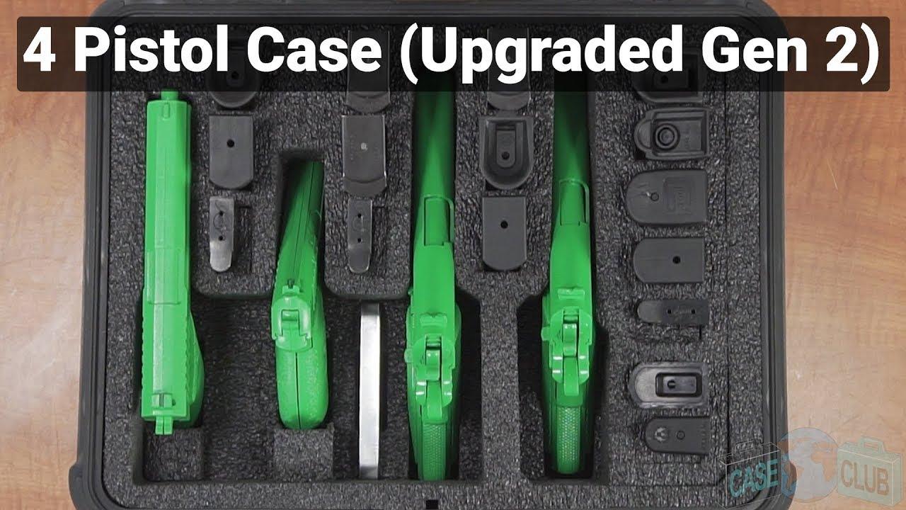 Case Club 4 Pistol Case (Upgraded Gen 2) - Video
