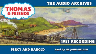 Фото Thomas \u0026 Friends | Percy And Harold - Narrated By Sir John Gielgud