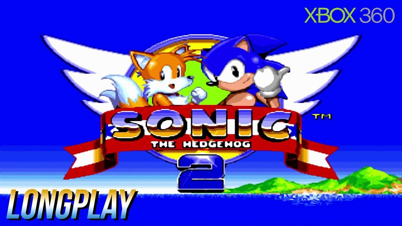 Sonic The Hedgehog 2 Xbox 360 2 Players Longplay Youtube