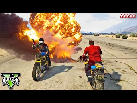 GTA 5 Shotgun Jousting on Motorbikes! HILARIOUS Competition with The PS4 Crew (GTA 5 Funny Moments)