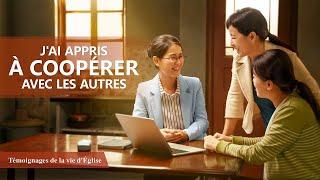Témoignage chrétien en français 2020 « J'ai appris à coopérer avec les autres »
