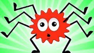 Incy Wincy Паук   Дети песни   потешки для детей    Itsy Bitsy Spider