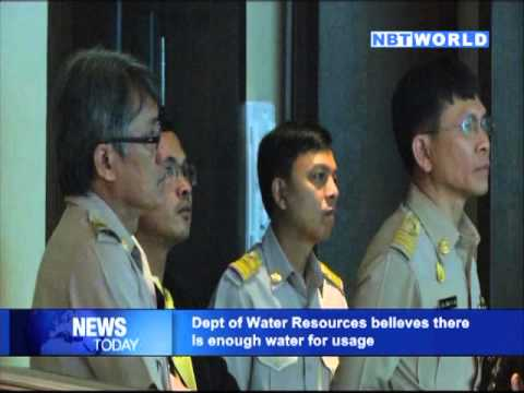 Department of Water Resources DG believes there is enough water for usage