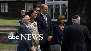 Prince William and Princess Kate continue royal tour in Poland