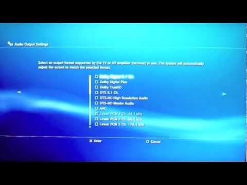 How To Fix The HDMI Audio Problem For PS3