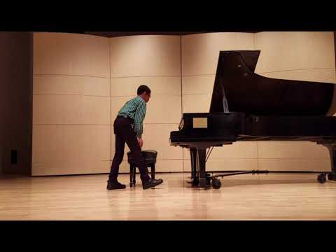 Omaha Conservatory of Music Piano Recital, April 7th 2018