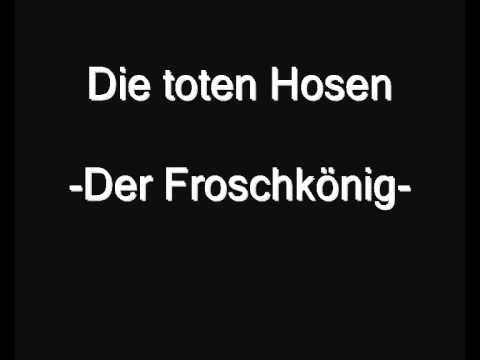 Die toten Hosen - Der Froschkönig (cover)