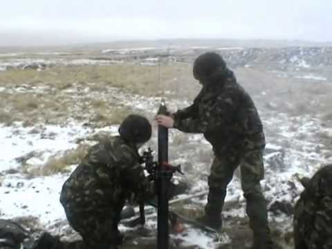 Live Firing Falklands Islands July 05
