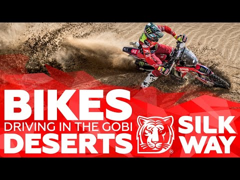 BIKES DRIVING IN THE GOBI DESERT – inspiring video | Silk Way Rally 2019🌏
