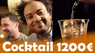 Cocktail à 12€ VS 1200€ avec Fabrice Éboué