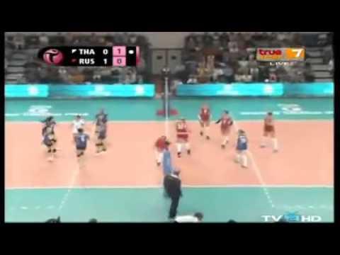 สุดยอด ทัดดาว !!!! ยกให้เป็นวอลเลย์บอล ช็อตเด็ดของคู่ไทย - รัสเซีย