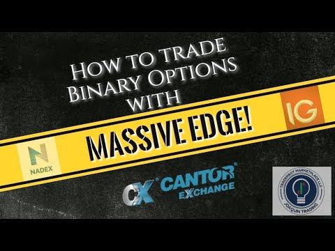 How to trade Binary Options with MASSIVE EDGE! - Binary Trading - Binary Option Strategy