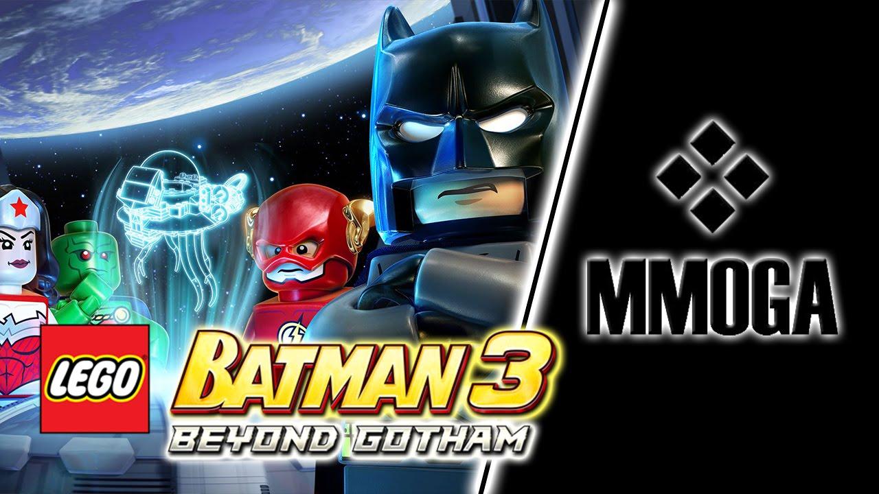 LEGO Batman 3: Beyond Gotham - MMOGA Gameplay Test - YouTube