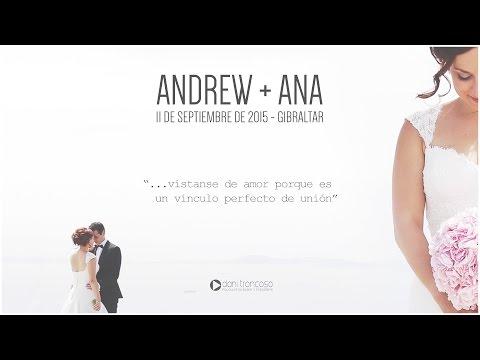 VÍDEOS DE BODAS ORIGINALES Y CREATIVOS | ANDREW + ANA | DANI TRONCOSO