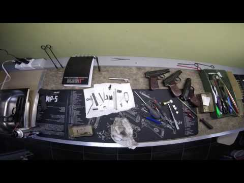 Разборка, чистка, сборка ЧЗ75. Disassembly, cleaning, assembly CZ75 SP-01 shadow