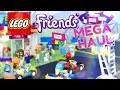 Unbox Daily: LEGO Friends MEGA HAUL | Tuning Shop | Diner | Car Wash and much more