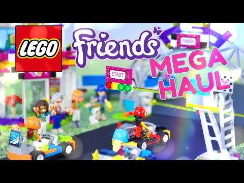 Unbox Daily: LEGO Friends MEGA HAUL   Tuning Shop   Diner   Car Wash and much more