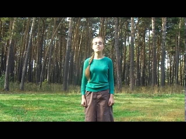 Изображение предпросмотра прочтения – ЕлизаветаЛожкина читает произведение «Одиночество» И.А.Бунина