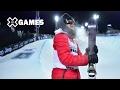 Miguel Porteous wins Men's Ski SuperPipe silver