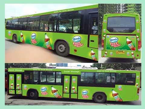 Volvo Bus Advertising in Bangalore | bus advertising in Bangalore