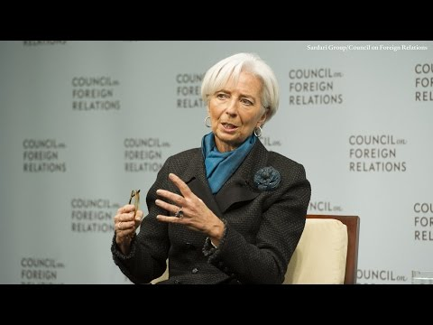Christine Lagarde on a New Multilateralism for the Global Economy
