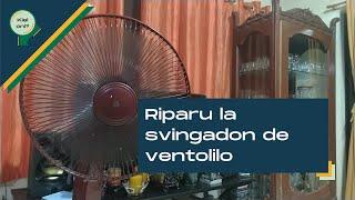 Riparu la Svingadon de Ventolilo | Kiel Oni?