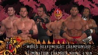 WWE SVR 2007 Elimination Chamber World World Heavyweight Championship