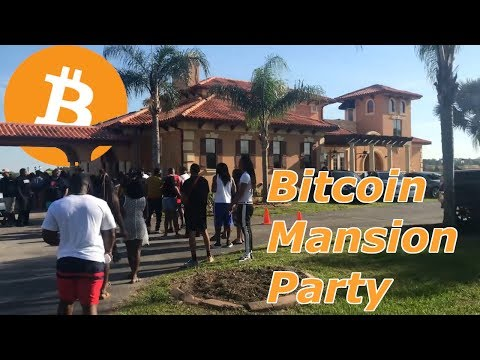 Bitcoin Mansion Pool Party!