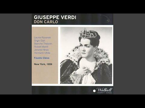 Don Carlo : Atto terzo - ''Parte prima. Introduzione