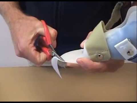 How to | Trim the toe shelf on a DAFO