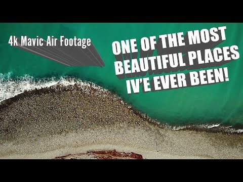 CABLE BAY - NELSON, NEW ZEALAND 4K // Shot On The Dji Mavic Air