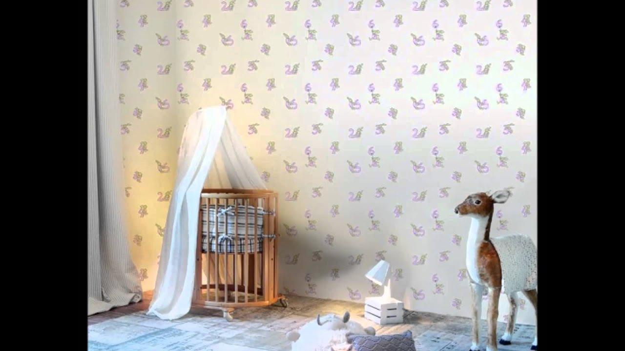 Papel pintado infantil con conejitos y animales youtube - Papel pintado animales ...