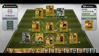 FIFA 13 Ultimate Team | My Skill Squads [UPDATED]