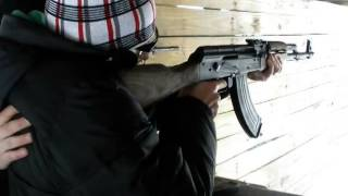 Стрільба з АК-47. Автомат Калашникова АК-47