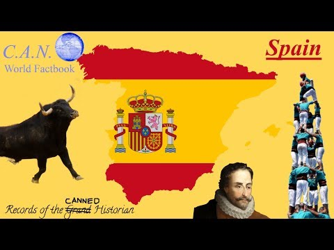 C.A.N. World Factbook: Spain