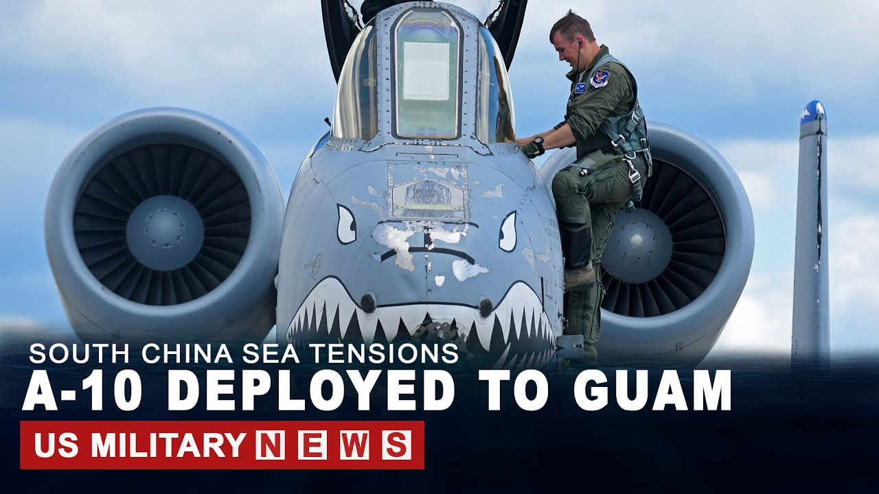 US Deploys A-10 To Guam Amid High Tensions With Beijing