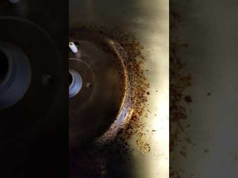 Stainless steel stove top cleaning procedure part 1