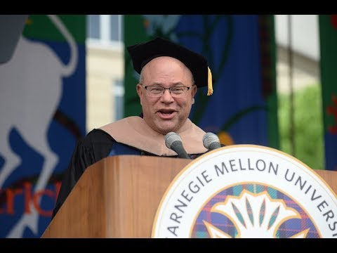 Keynote Speaker David Tepper - Commencement 2018
