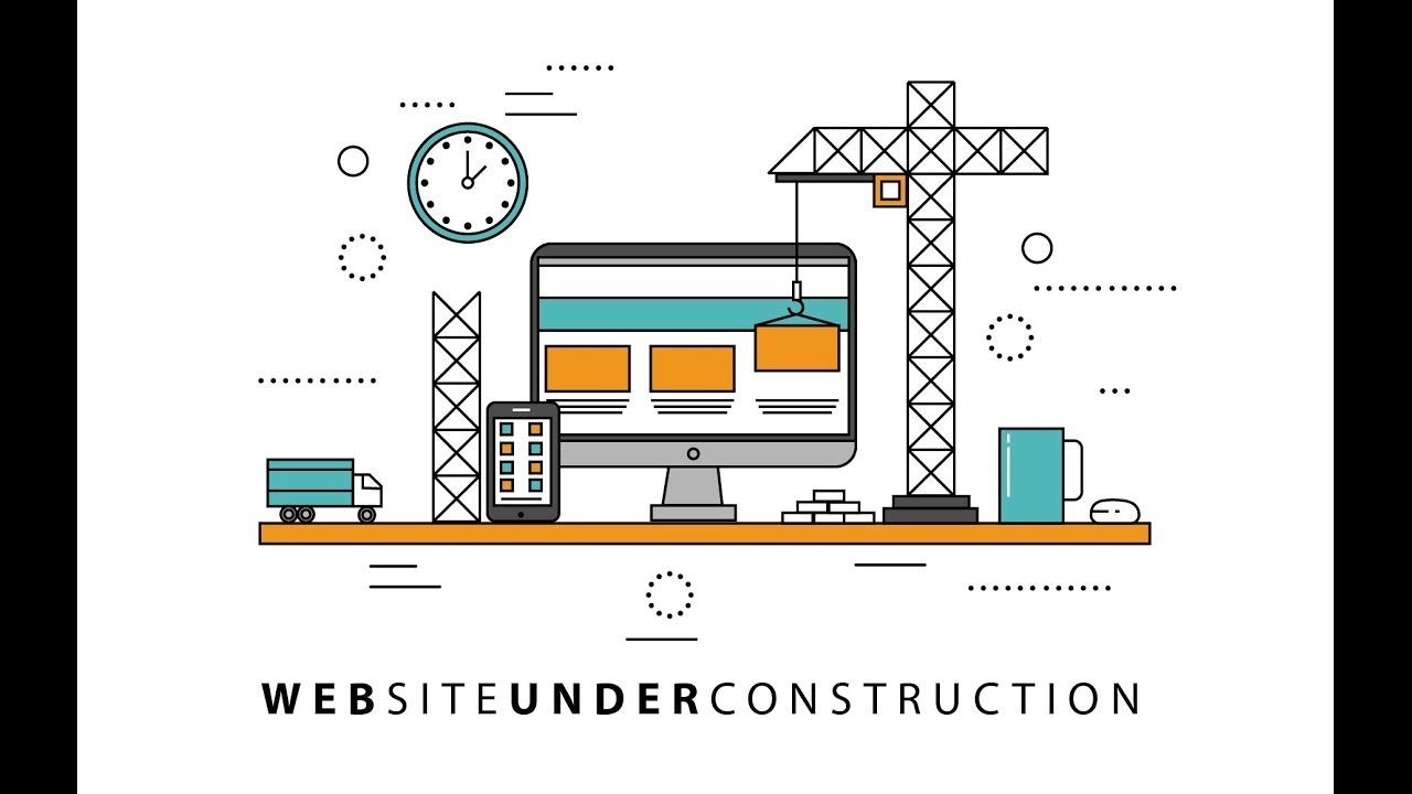 FREE DOWNLOAD Website Under Construction TUTORIAL by CreativeRJ ...