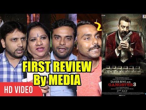 Saheb, Biwi Aur Gangster 3 | MOVIE REVIEW | SPECIAL MEDIA REVIEW