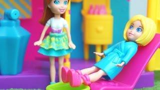 Polly Pocket Vai ao Salão de Beleza e Muda o Visual Novelinha em Português KidsToys