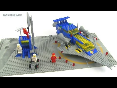 Lego Classic Space 928 Or 497 Galaxy Explorer Review 1979 Set